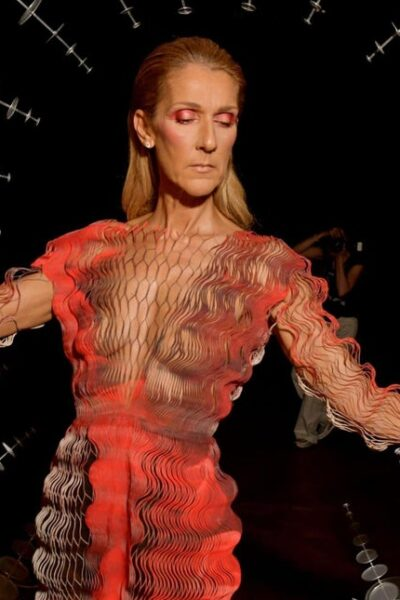 Breaking the rules of fashion by Celine Dion